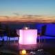 Cubo led 65x65cm RGB recargable