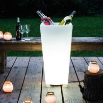 Led lumineux cubitera 'Amsterdam', lumière 16 couleurs