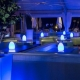 Lámpara luminosa led 'Egg', luz 16 colores, portátil
