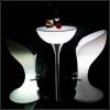 Table d'hospitalité éclairée par lumière LED 60x100cm, RGB, sans fil, Shine