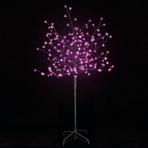 Arbol luminoso Led 150cm,  200 Led rosa