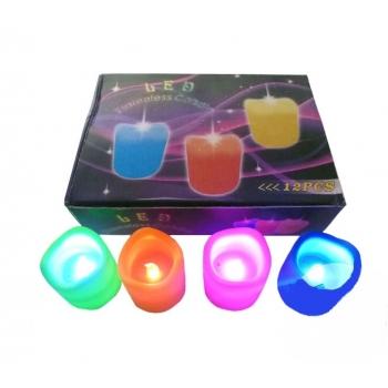 Bougies LED, boîte 12 unités