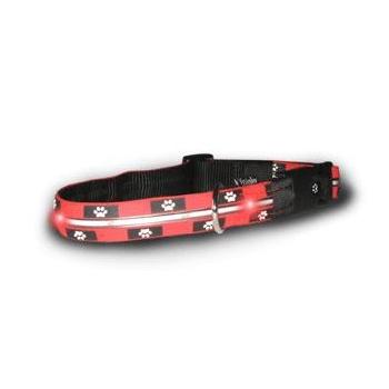 Colliers de chien lumineux, Visiglo, empreintes de pas