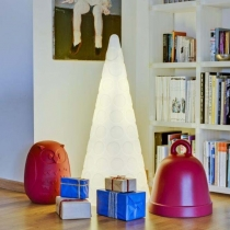 Lâmpada luminosa led 'Cone', luz 16 cores