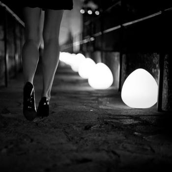 Lampe à billes LED 'Rock' 30cm, Lumière 16 Couleurs, Portable