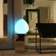 Lámpara Bola led 'Rock' 30cm, luz 16 colores, portátil