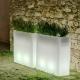 LED flowerpot 'Junco', 16 colours light, portable