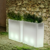 LED flowerpot 'Junco', 16 colours light, portable