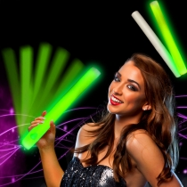 LED Foam Sticks Green 48x4cm