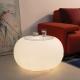 Table d'hospitalité illuminée avec la lumière, LED, RGB, sans fil, Bulle
