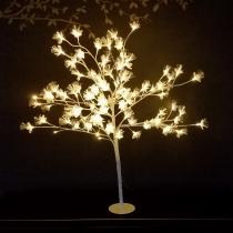 Árvore de fibra óptica led 1 metro