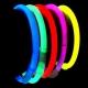 100 Bracelets de fête lumineux, Glow, Orange