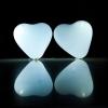 Ballons led, coeur, blanc