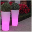 LED Flower Pots